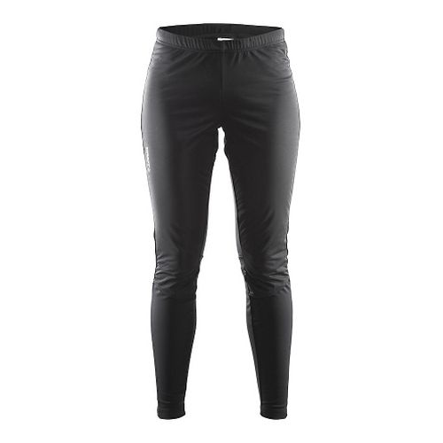 Womens Craft Voyage Wind Tights & Leggings Pants - Black L