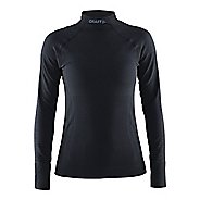 Womens Craft Warm Half Neck Long Sleeve Technical Tops