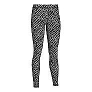 Womens Under Armour Favorite Legging - All Over Wordmark Tights & Leggings Pants - Black S