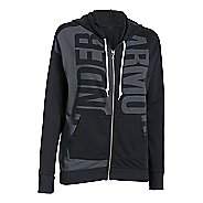 Womens Under Armour Favorite French Terry Full-Zip Hoodie & Sweatshirts Technical Tops