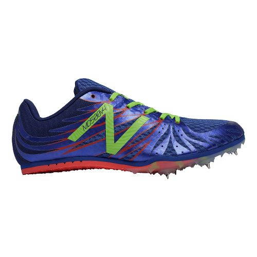 Mens New Balance MD500v4 Track and Field Shoe - Blue/Yellow 11.5