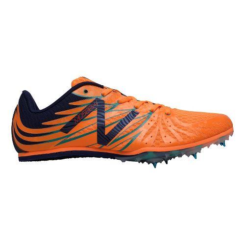 Mens New Balance MD500v4 Track and Field Shoe - Orange/Blue 11.5