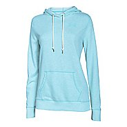 Womens Under Armour Favorite French Terry Popover Hoodie & Sweatshirts Technical Tops