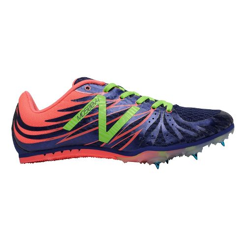 Womens New Balance MD500v4 Track and Field Shoe - Blue/Pink 5.5