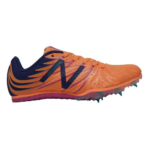Womens New Balance MD500v4 Track and Field Shoe - Orange/Pink 11