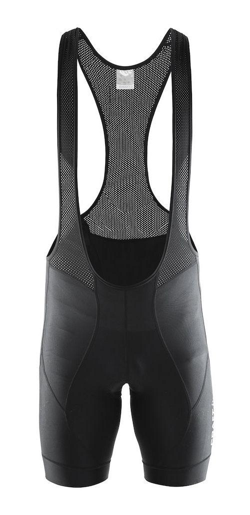 Mens Craft Move Bib Shorts Cycling Shorts - Black S