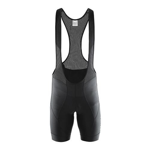 Mens Craft Move Bib Shorts Cycling Shorts - Black XL