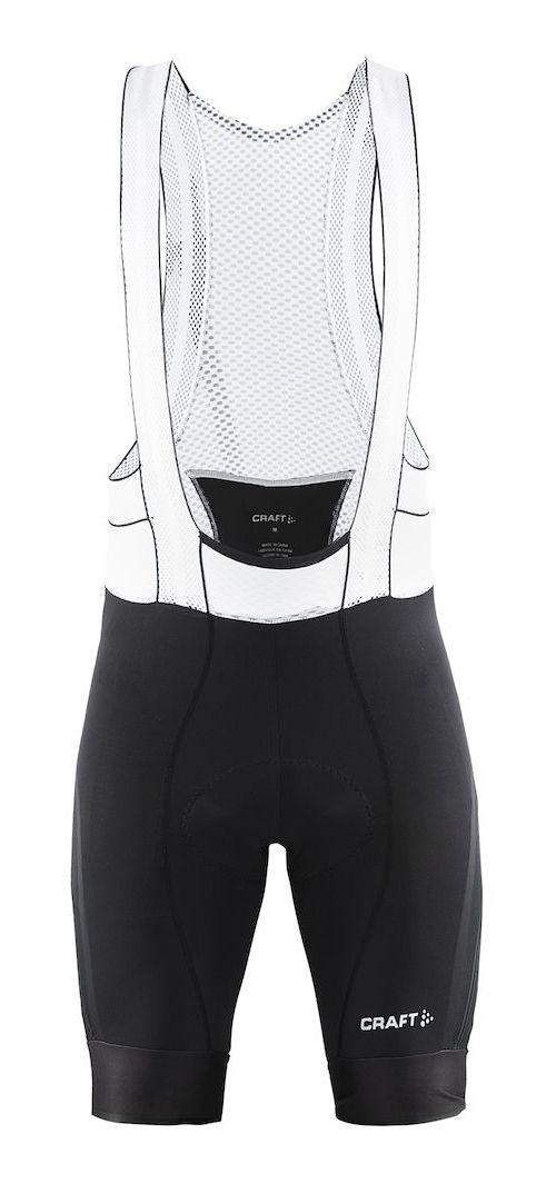Mens Craft Tech Bib Cycling Shorts - Black XXL
