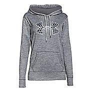 Womens Under Armour Storm Armour Fleece Big Logo Twist Hoodie & Sweatshirts Technical Tops