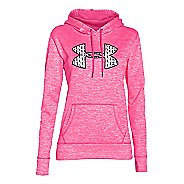 Womens Under Armour Storm Armour Fleece Big Logo Twist Hoodie & Sweatshirts Technical Tops