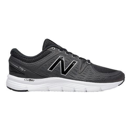 Mens New Balance 775v2 Running Shoe - Black/Silver 12