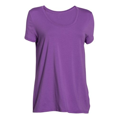 Womens Under Armour Studio Oversized T Short Sleeve Non-Technical Tops - Mega Magenta XS