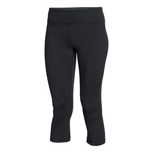Womens Under Armour Shape Shifter Capris Pants - Black XS