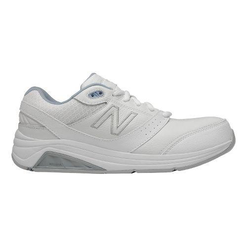 Womens New Balance 928v2 Walking Shoe - White/Blue 8.5