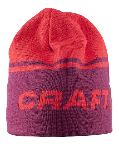 Craft Logo Hat Headwear - Ruby/Crush L/XL