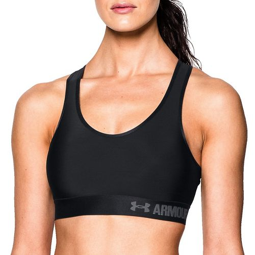 Womens Under Armour Mid Sports Bras - Black M