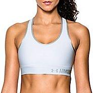 Womens Under Armour Mid Sports Bras - White XL
