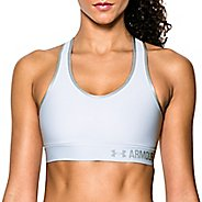 Womens Under Armour Mid Sports Bras - White XS