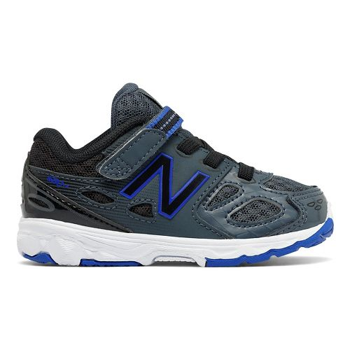 New Balance 680v3 Running Shoe - Grey/Blue/Black 9.5C