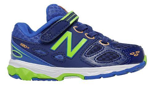 New Balance 680v3 Running Shoe - Blue/Green 6C