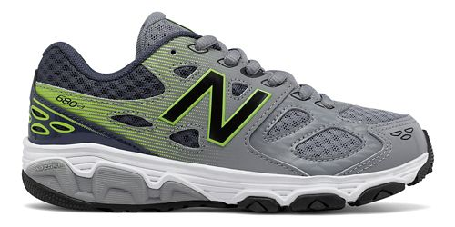 New Balance 680v3 Running Shoe - Grey/Hi-Lite 2.5Y