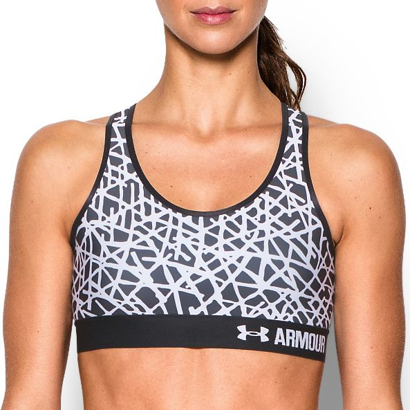 Under Armour Printed Mid Sports Bra