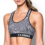 Womens Under Armour Printed Mid Sports Bras