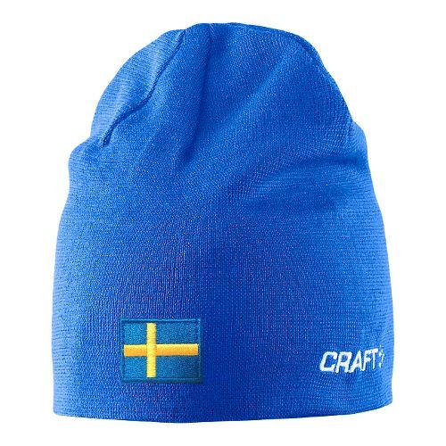 Craft RACE Hat w flag Headwear - Sweden Blue S/M