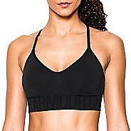 Womens Under Armour Seamless with Cups Sports Bras - Black L