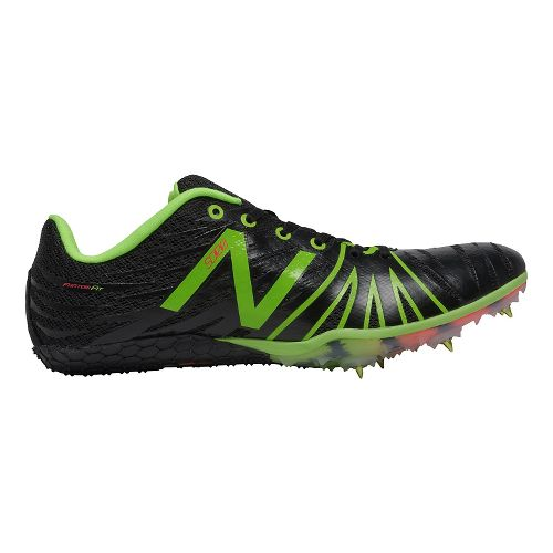 Mens New Balance SD100v1 Track and Field Shoe - Black/Yellow 9.5