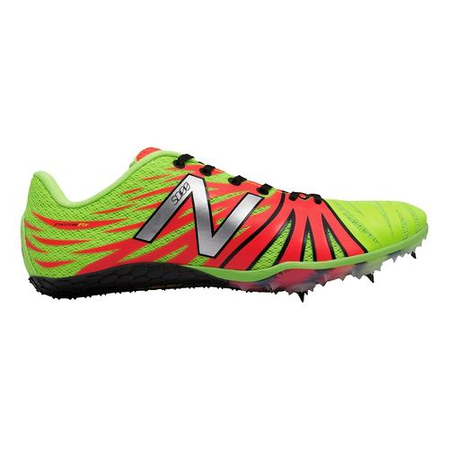 Mens New Balance SD100v1 Track and Field Shoe - Yellow/Pink 11.5
