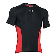 Mens Under Armour HeatGear CoolSwitch Compression Shirt Short Sleeve Technical Tops