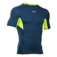 Mens Under Armour HeatGear CoolSwitch Compression Short Sleeve Technical Tops