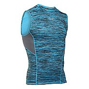Mens Under Armour HeatGear CoolSwitch Compression Sleeveless & Tank Technical Tops