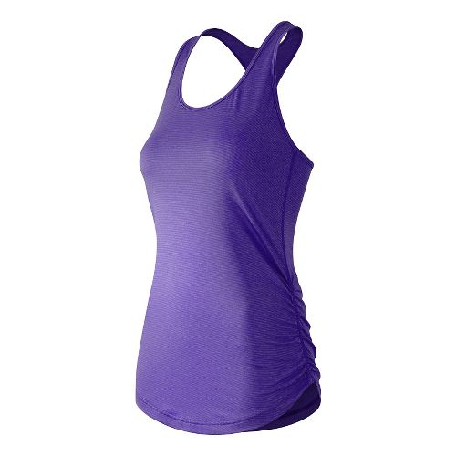 Womens New Balance The Perfect Sleeveless & Tank Technical Tops - Titan XL