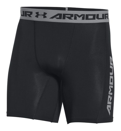 Mens Under Armour HeatGear CoolSwitch Compression & Fitted Shorts - Black L