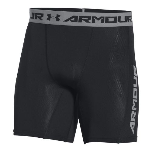 Mens Under Armour HeatGear CoolSwitch Compression & Fitted Shorts - Black XL