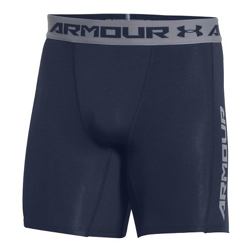 Mens Under Armour HeatGear CoolSwitch Compression & Fitted Shorts - Midnight Navy M
