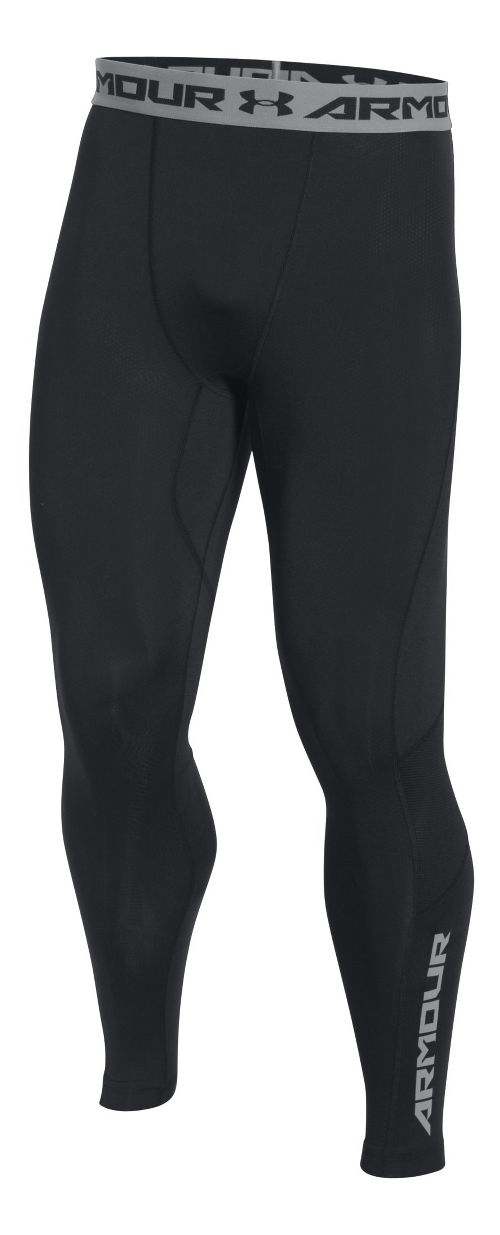 Mens Under Armour HeatGear CoolSwitch Compression Tights & Leggings Pants - Black L