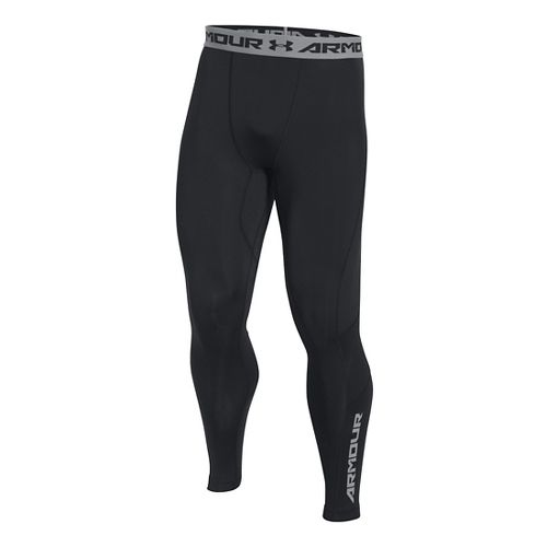 Mens Under Armour HeatGear CoolSwitch Compression Tights & Leggings Pants - Black S