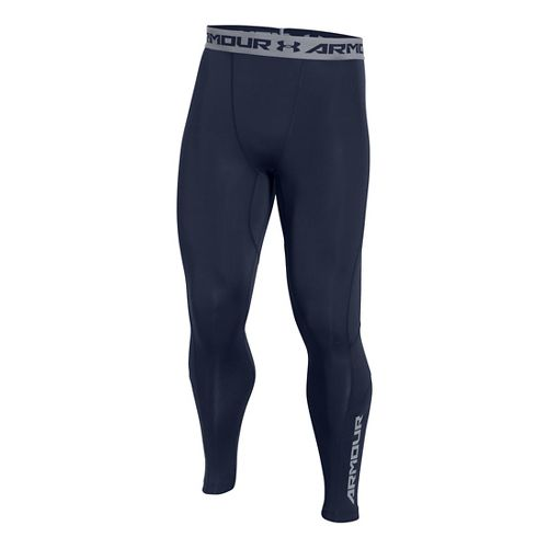 Mens Under Armour HeatGear CoolSwitch Compression Tights & Leggings Pants - Midnight Navy M