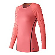 Womens New Balance Trinamic Long Sleeve Technical Tops