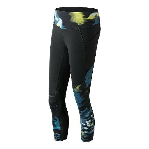 Womens New Balance Fashion Capris Pants - Urban Floral Print XS