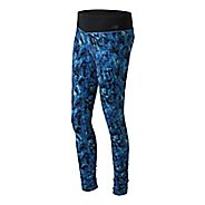 Womens New Balance Premium Performance Print Tights & Leggings Pants