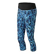Womens New Balance Premium Performance Print Capris Pants