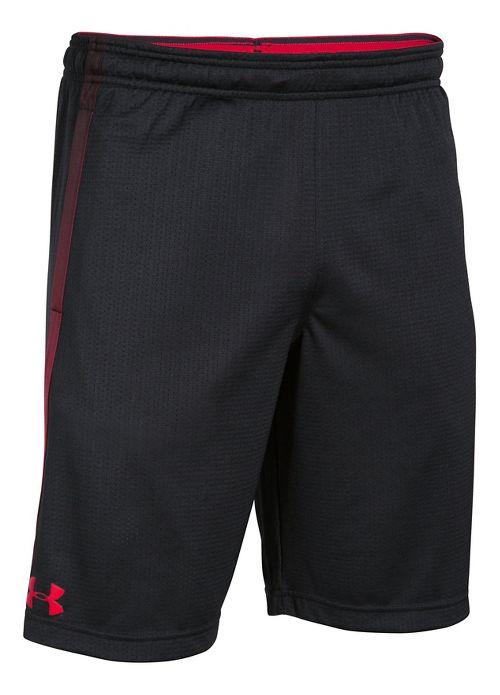 Mens Under Armour Tech Mesh Unlined Shorts - Black L