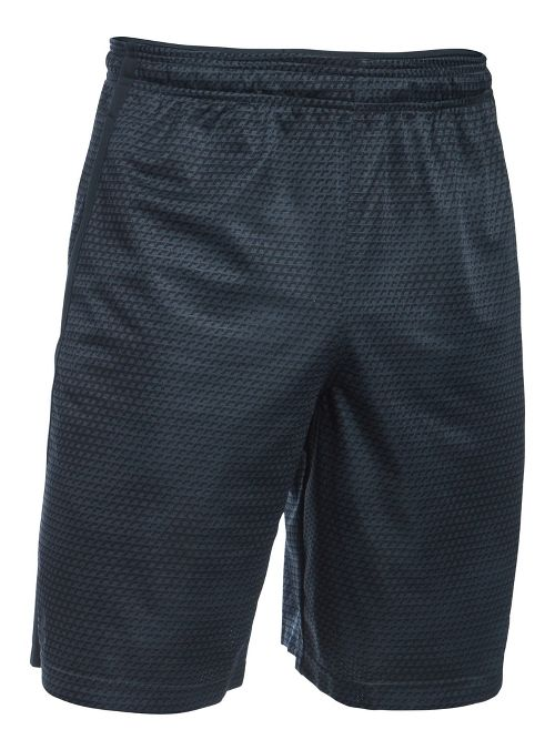 Mens Under Armour Tech Mesh Unlined Shorts - Red L