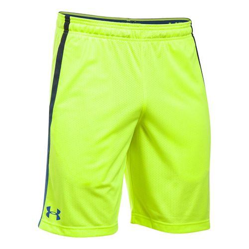 Mens Under Armour Tech Mesh Unlined Shorts - Fuel Green XXLR