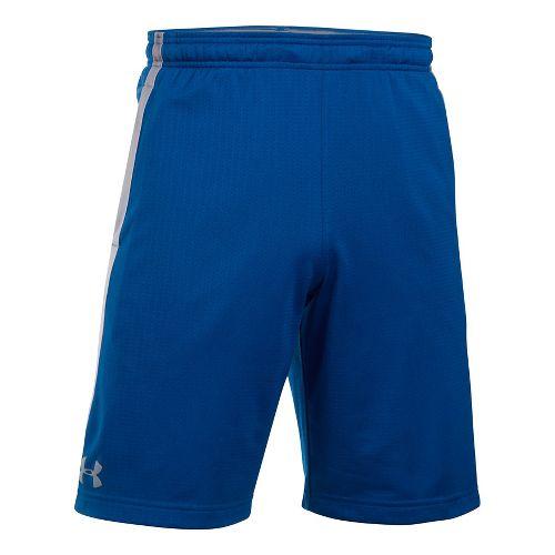 Mens Under Armour Tech Mesh Unlined Shorts - Royal M