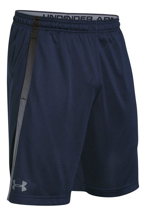 Mens Under Armour Tech Mesh Unlined Shorts - Midnight Navy M